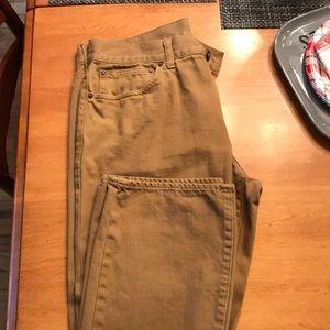 J Crew vintage slim fit straight pants